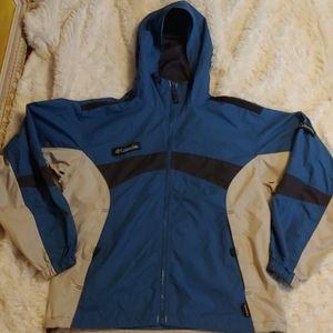 Columbia Rain Jacket Size M